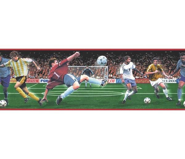Boys Football Wallpaper Border B74884