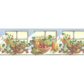 Clearance: Fruits Wallpaper Border KT74962