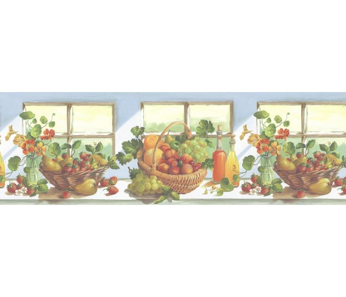 Clearance: Fruits Wallpaper Border KT74962