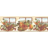 Garden Wallpaper Borders: Fruits Wallpaper Border KT74963