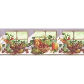 Clearance: Fruits Wallpaper Border KT74964