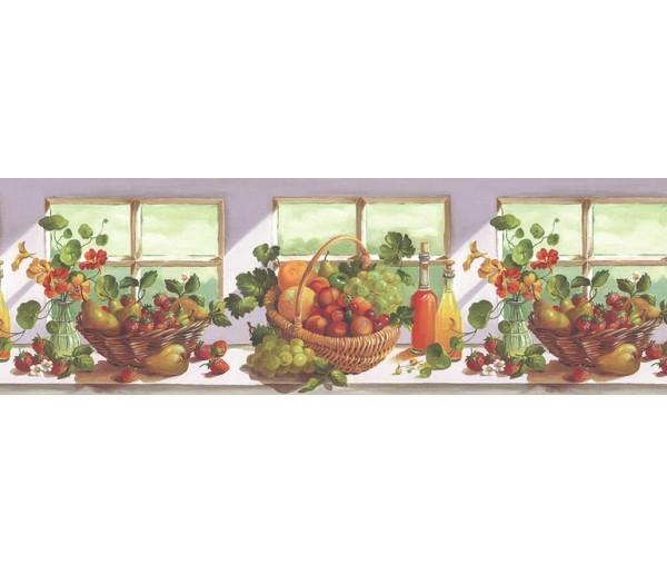 Clearance: Fruits Wallpaper Border KT74964