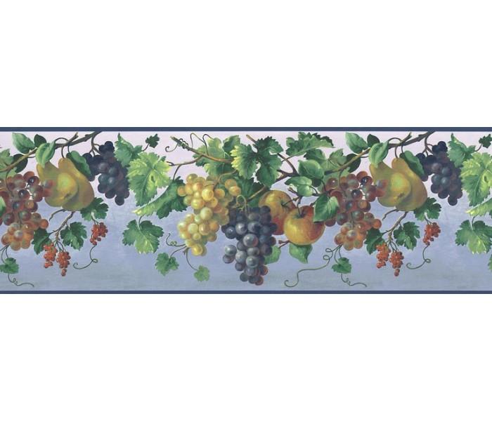 Garden Wallpaper Borders: Fruits Wallpaper Border KT74974