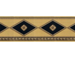Prepasted Wallpaper Borders - Vintage Wall Paper Border BAR7500B