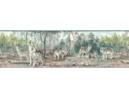 Animals Wallpaper Border TM75067