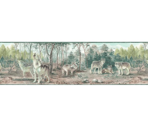 Animal Wallpaper Borders: Animals Wallpaper Border TM75067