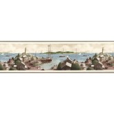Sea World Wall Borders: Ships Wallpaper Border TM75075