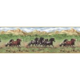 Horses Wallpaper Borders: Horses Wallpaper Border TM75077