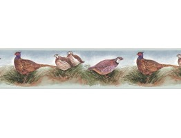 Prepasted Wallpaper Borders - Birds Wall Paper Border B75079