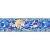 Prepasted Wallpaper Borders - Fishes Wall Paper Border IG75182B