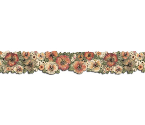 Floral Wallpaper Borders: Hibiscus Wallpaper Border FP75430DC