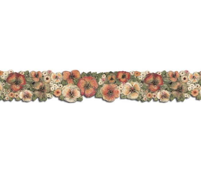 Floral Wallpaper Borders: Hibiscus Wallpaper Border FP75430DC