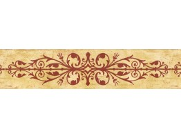 Prepasted Wallpaper Borders - Contemporary Wall Paper Border SS75488