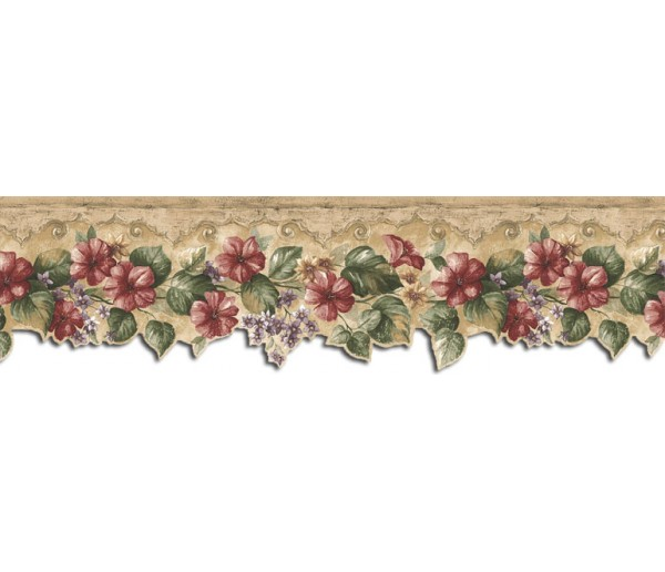 Kitchen Borders Floral Wallpaper Border KB75528DC