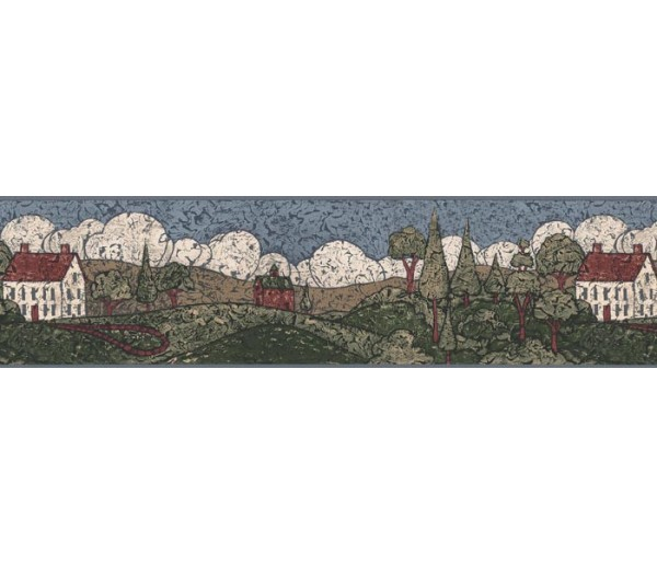 Clearance: Country Wallpaper Border AP75673