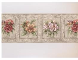 Floral Wallpaper Border HB75709