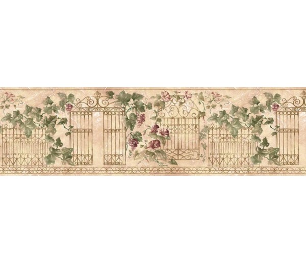 Floral Wallpaper Borders: Floral Wallpaper Border HB75719