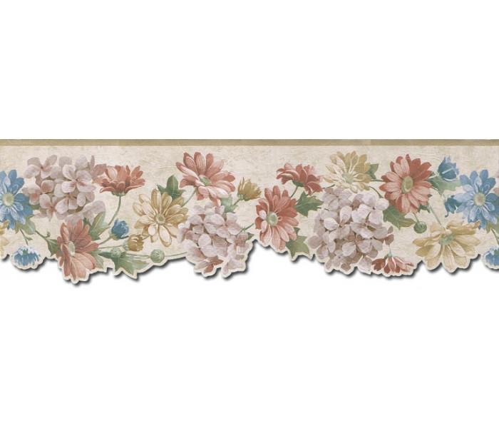 Floral Wallpaper Borders: Floral Wallpaper Border b75750