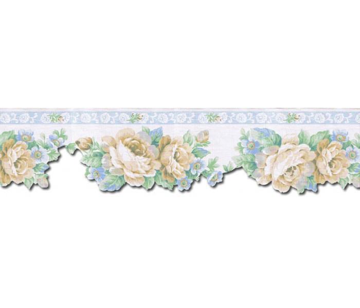 Floral Wallpaper Borders: Floral Wallpaper Border b75755