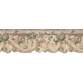 Clearance: Leaves Wallpaper Border B75851DC