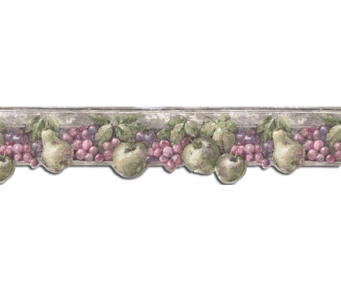 Clearance: Fruits Wallpaper Border B75864DC