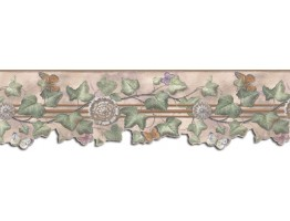 Prepasted Wallpaper Borders - Butterfly Wall Paper Border B75869DC