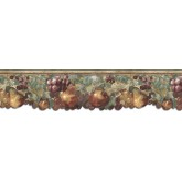Clearance: Fruits Wallpaper Border B75881DC