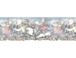 Prepasted Wallpaper Borders - Horses Wall Paper Border SU75906DC