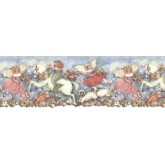 Clearance: Horses Wallpaper Border SU75907DC