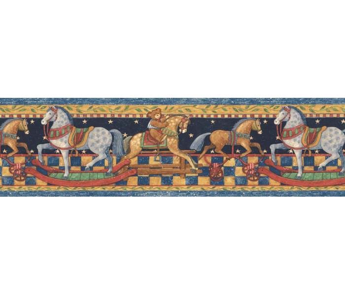 Horses Wallpaper Borders: Animals Wallpaper Border SU75915