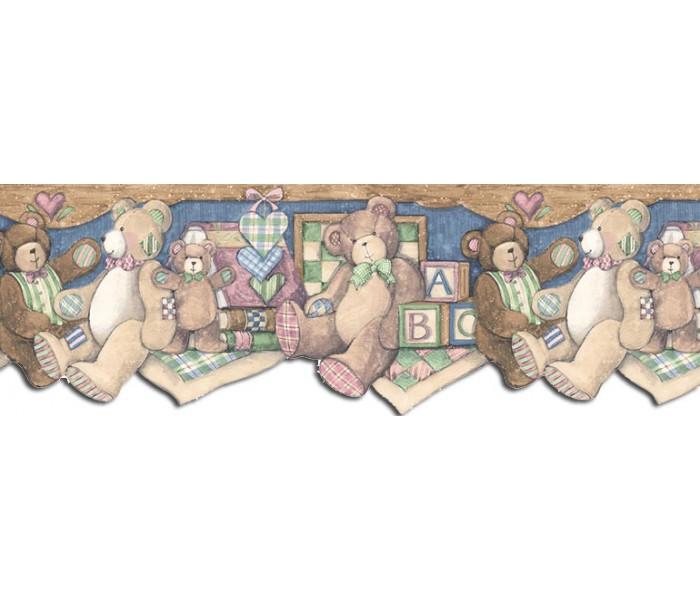 Toys Wallpaper Borders: Animals Wallpaper Border SU75922DC