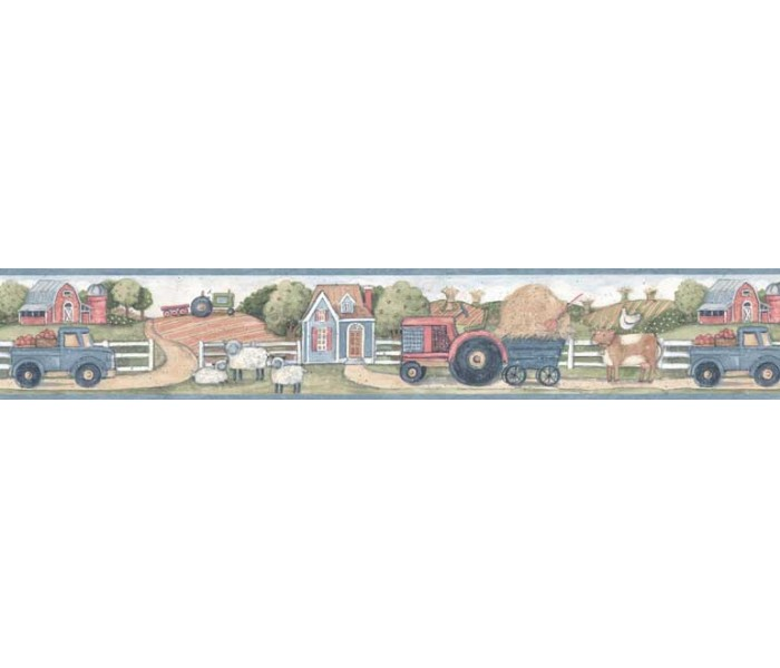 Clearance: Country Wallpaper Border SU75927