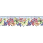 Country Wallpaper Borders: Butterfly Wallpaper Border SU75929DC