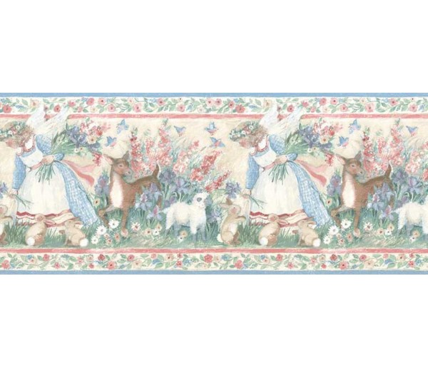 Clearance: Animals Wallpaper Border SU75930