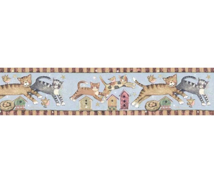 Clearance: Cats Wallpaper Border SU75934
