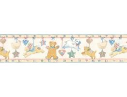 Animals Wallpaper Border SU75936