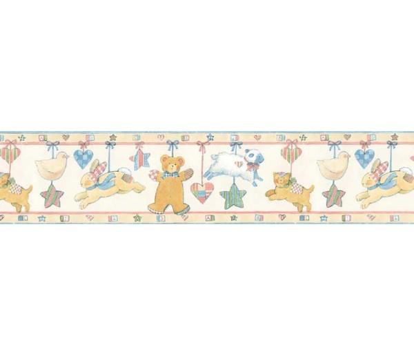 Clearance: Animals Wallpaper Border SU75936