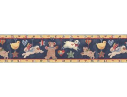 Prepasted Wallpaper Borders - Animals Wall Paper Border SU75937