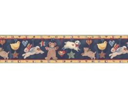 Animals Wallpaper Border SU75937