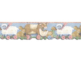 Prepasted Wallpaper Borders - Animals Wall Paper Border SU75939DC