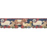 Clearance: Animals Wallpaper Border SU75940DC