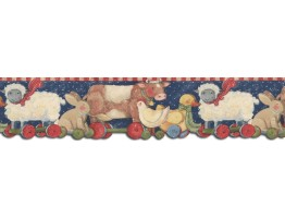 Prepasted Wallpaper Borders - Animals Wall Paper Border SU75940DC