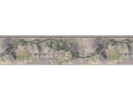 Prepasted Wallpaper Borders - Leaves Wall Paper Border B76169