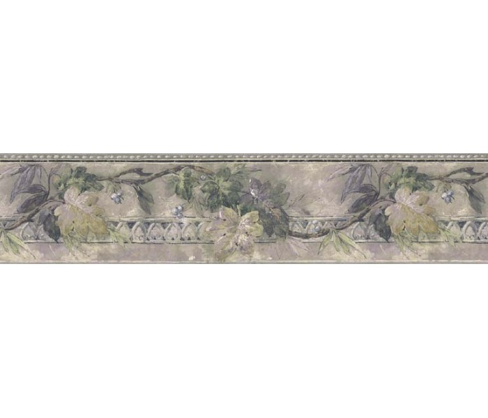 Clearance: Leaves Wallpaper Border B76169