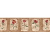 Floral Wallpaper Borders: Floral Wallpaper Border ED76255