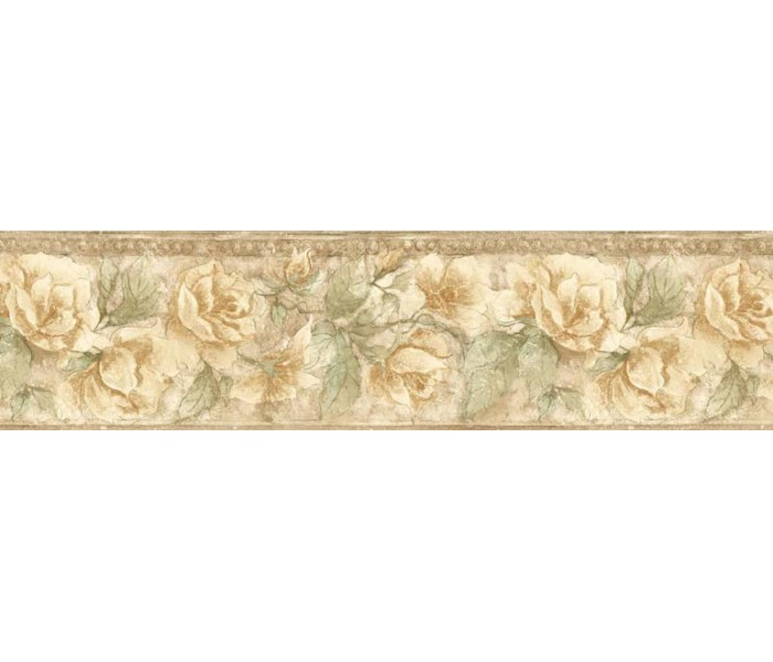 Floral Wallpaper Borders: Floral Wallpaper Border ED76257