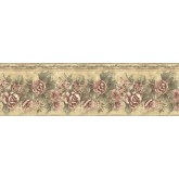 Clearance: Floral Wallpaper Border ED76270