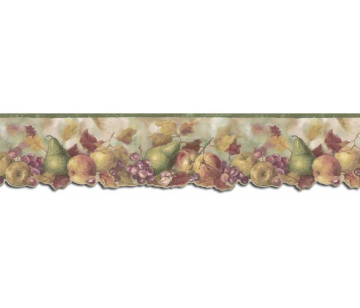 Clearance: Fruits Wallpaper Border B76301
