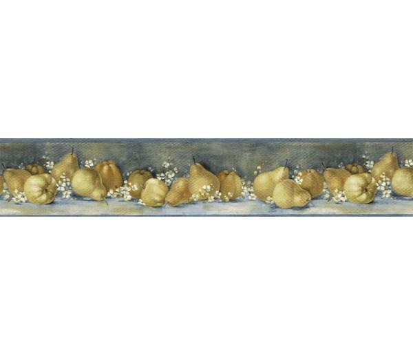 Clearance: Pear Fruits Wallpaper Border BG76304A