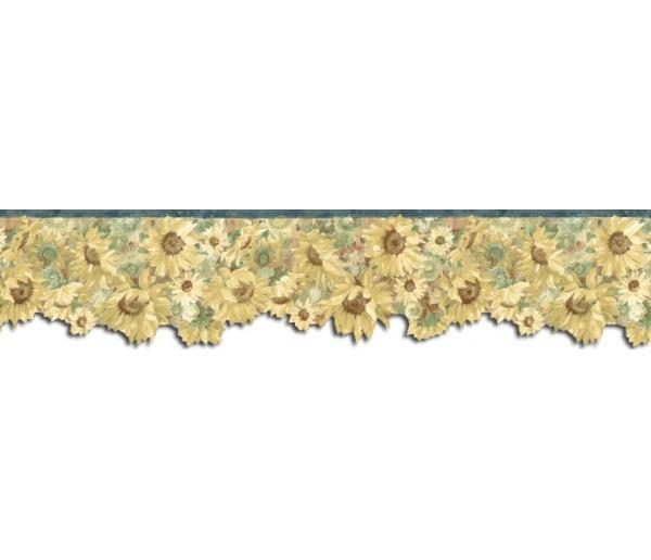 Sunflower Wallpaper Borders: Sunflowers Wallpaper Border B76333
